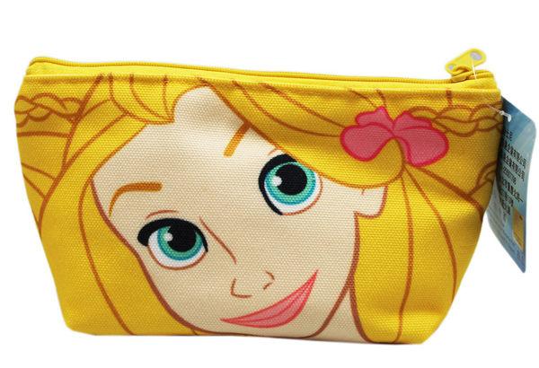 【卡漫城】 魔髮奇緣 化妝包 ㊣版 Rapunzel Tangled 長髮公主 收納包 置物包 萬用包 收納袋 筆袋