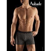 Aubade man-壞男人M-XL舒棉平口褲(偶像)