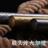 斯巴達刻紋棒球棒加厚合金鋼黑棒球桿打架武器車載防身棒球棍【一條街】