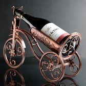 現代簡約創意紅酒架擺件歐式酒瓶架客廳家居葡萄酒架擺設酒櫃裝飾   WD聖誕節快樂購