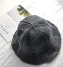 漁夫帽子女士秋冬天盆帽羊毛混紡針織帽保暖韓國可折疊日系百搭潮一米陽光