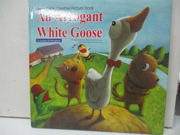 【書寶二手書T1/少年童書_EC2】An Arrogant White Goose