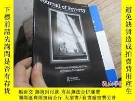 二手書博民逛書店journal罕見of poverty volume 17 nu
