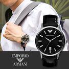 EMPORIO ARMANI 亞曼尼 AR2411 都會經典時尚精品錶 熱賣中!