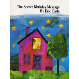 【麥克書店】SECRET BIRTHDAY MESSAGE /英文繪本附CD《認知/想像》