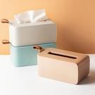矽膠提把翻蓋面紙盒 衛生紙盒 紙巾盒 收納盒 面紙盒 面紙架 桌面收納盒 創意面紙盒【RS1127】