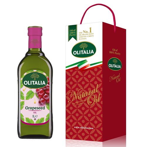【奇奇文具】奧利塔Olitalia 葡萄籽油 (1000ml)