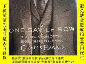 二手書博民逛書店One罕見Savile Row: Gieves & Hawkes: The Invention of the En