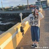 女童衛衣潮款中大童韓版套頭長袖洋氣卡通上衣童裝  莫妮卡小屋