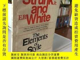 二手書博民逛書店*罕見Strunk and White The Elements of Style(英文版)Y310521