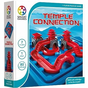 【SMART GAMES】古城迷宮 Temple connection 桌上遊戲
