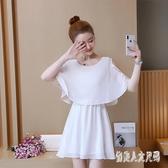 大尺碼洋裝 2020新款夏裝韓版時尚短袖連身裙胖mm藏肉顯瘦雪紡裙子 TR1324 『俏美人大尺碼』