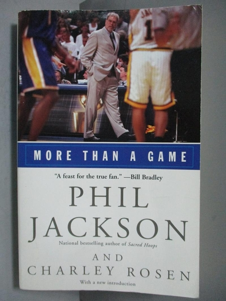 【書寶二手書T6/原文書_IAL】More Than a Game_Jackson, Phil/ Rosen, Char