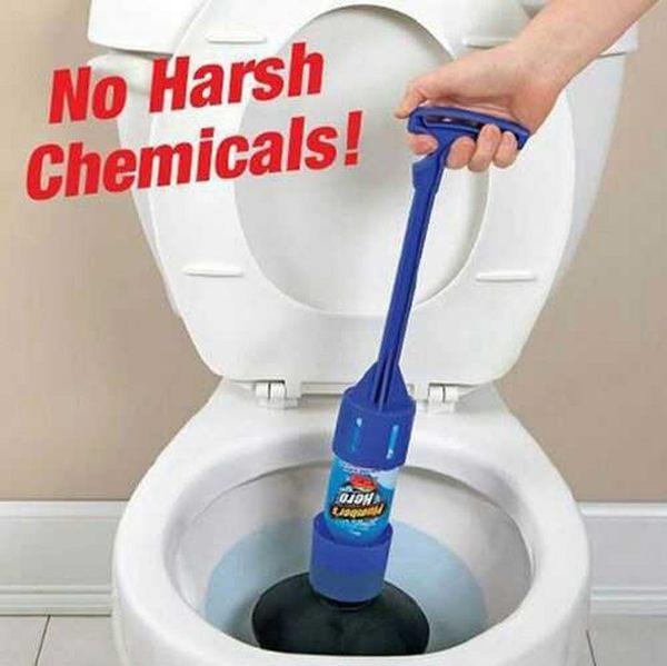 美國熱銷 Plumber's Hero水管疏通劑 馬桶疏通器 秒通水管神器