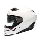 【東門城】ZEUS ZS611E 素色(白) 半罩式安全帽 可加購下巴罩