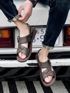 一字 拖鞋男防滑新品 新款 涼鞋厚底韓版外穿時尚沙灘涼拖鞋 夏季 超值價