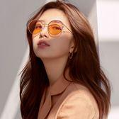 CARIN 太陽眼鏡 DEBBIE C2 (玫瑰金-粉鏡片) 韓星秀智代言 簡約時尚女伶款 墨鏡 # 金橘眼鏡