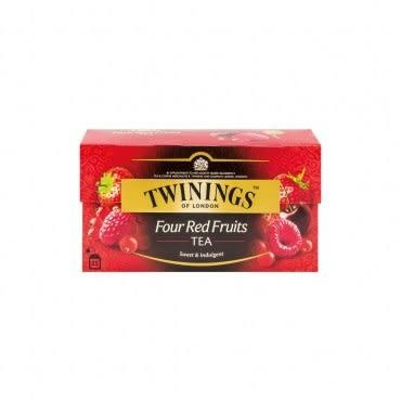 Twinings四果紅茶2g 25入