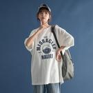 短袖T恤 短袖女2020年夏季新款韓版寬松圓領半袖ins上衣衣服學生白色t恤潮【快速出貨】