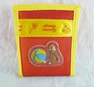 【震撼精品百貨】Curious George _好奇的喬治猴~短夾-紅-魔鬼氈【共1款】