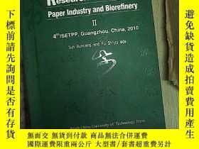 二手書博民逛書店Research罕見Progress in Paper Indu