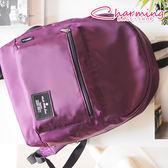 俏咪包  Simple 多夾層設計後背包 [LG-796] 媽媽包