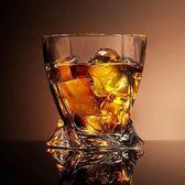 創意無鉛玻璃威士忌杯扭曲水杯牛奶杯洋酒飲料杯啤酒杯果汁啤酒杯1件免運89折下殺