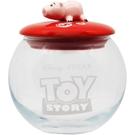 SUNART 透明玻璃置物罐 迪士尼 慵懶火腿豬_NR25130