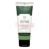 【美麗魔】英國 The Body Shop 美體小舖 茶樹淨膚淨化磨砂膏100ml
