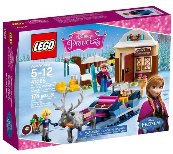 LEGO 樂高 迪士尼系列 Anna & Kristoff's Sleigh Adventure 41066