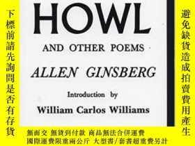 二手書博民逛書店Howl罕見And Other PoemsY256260 Allen Ginsberg City Lights