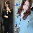 【T19903】shiny藍格子-冬織暖...