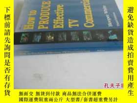 二手書博民逛書店英文原版罕見How To Produce Effective TV CommercialsY7215 Hoop