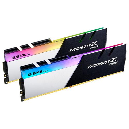 芝奇 G.SKILL Trident Z Neo 焰光戟 DDR4-3200 16GBx2 超頻記憶體 F4-3200C16D-32GTZN