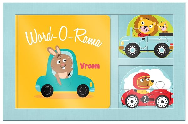 Word-O-Rama:Vroom 交通工具小書與拼圖組