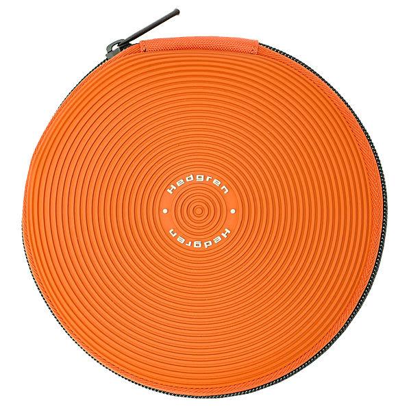 HEDGREN 3C萬用系列圓形CD收納袋(橘色) HRS07000OG