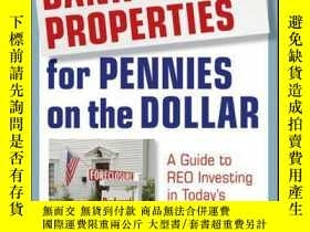 二手書博民逛書店How罕見to Buy Bank-Owned Properties for Pennies on the Doll
