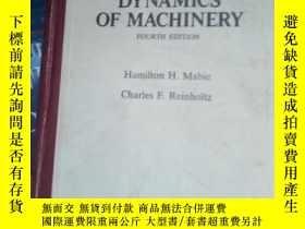二手書博民逛書店mechanisms罕見and dynamics of mach