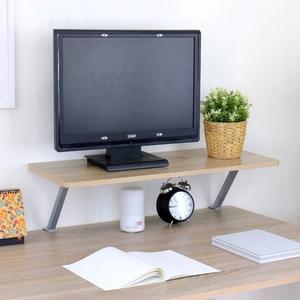 【頂堅】寬80公分(Z型)桌上型置物架/螢幕架(三色可選)原木色