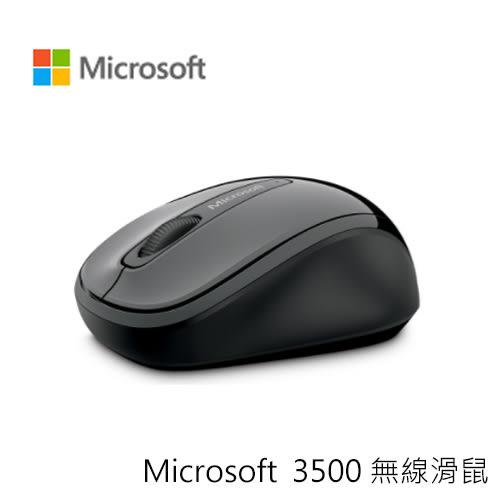 Microsoft 微軟 3500 無線 滑鼠 黑色