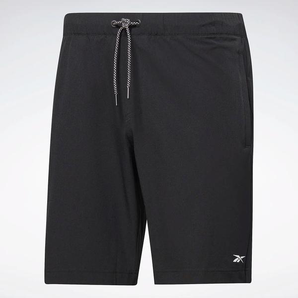 REEBOK LES MILLS® ARCHIVE EVO SHORTS 男裝 短褲 慢跑 訓練 速乾 透氣 黑【運動世界】FM7155