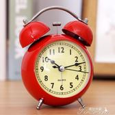 鬧鐘學生創意靜音復古床頭夜光簡約臥室兒童電子多功能小鬧鐘  提拉米蘇
