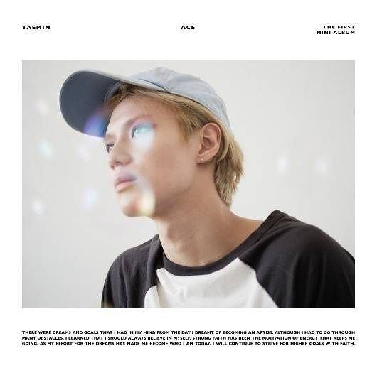泰民 首張迷你專輯ACE 台壓豪華版 CD    (購潮8)