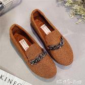 老北京布鞋女鞋 單鞋黑色工作鞋 百搭 平底孕婦鞋韓版 豆豆鞋 潔思米
