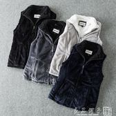 外貿女裝 2018秋季新款 立領無袖開衫加厚保暖坎肩馬甲外套 良品鋪子