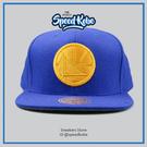 M&N MITCHELL&NESS SNAPBACK棒球帽 勇士 藍 絨毛 圓LOGO MN6BHA13GSWF☆SP☆