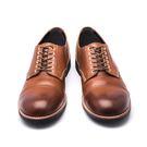 日本外羽根式手工翼紋皮鞋#71140咖啡...