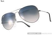 RayBan 太陽眼鏡 RB3025 00478 -62mm (槍銀-黑) 經典飛官偏光款 # 金橘眼鏡