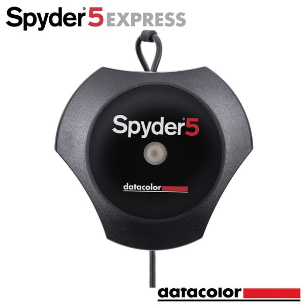 Datacolor Spyder5 EXPRESS 電腦螢幕校色器-入門組 公司貨