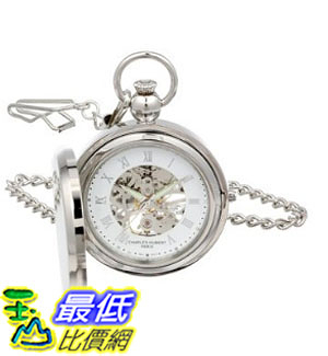 [美國直購] 手錶 Charles Hubert 3850 Mechanical Picture Frame Pocket Watch